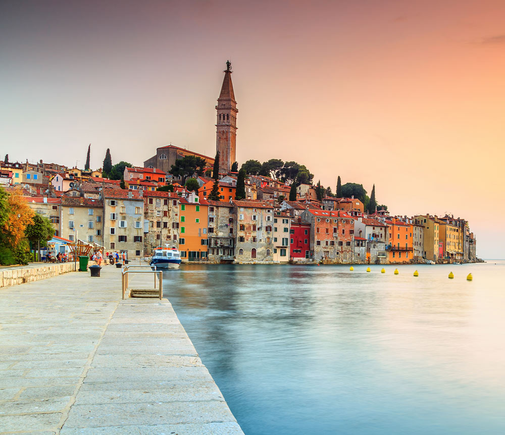 beautiful croatia by day