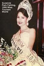 Suzanne Park Fahling Miss Tourism Winner 1995