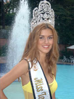 Anita Dujic Miss Tourism Winner 2001