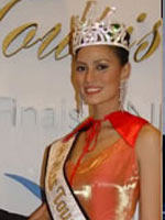 Michelle Reyes Miss Tourism Winner 2002