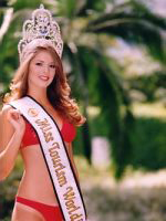 Alina Ciorogariu Miss Tourism Winner 2003