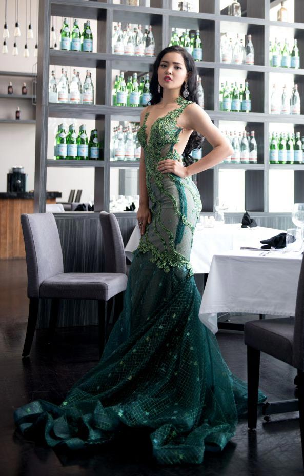 Indonesia-Evening-Gown