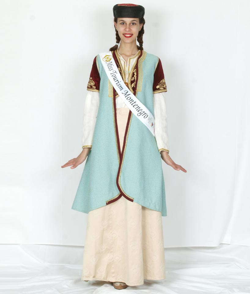 montenegro national costume