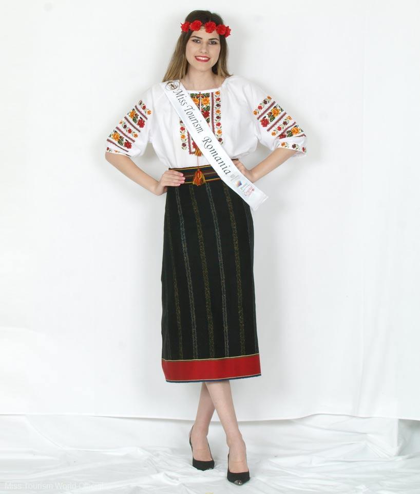 romania national costume