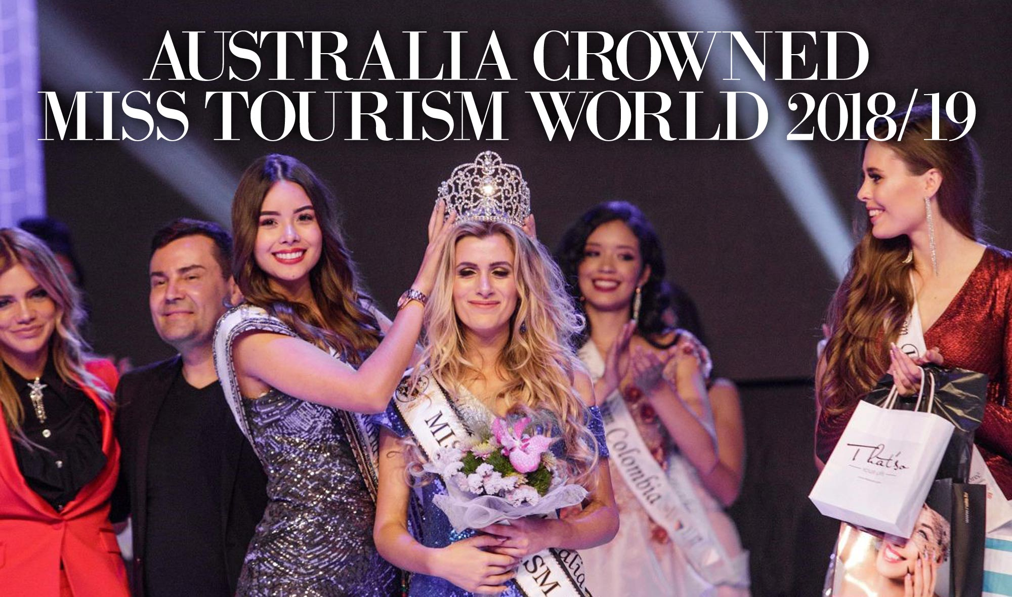 Australia crowned Winner of Miss Toursm World 2018/19